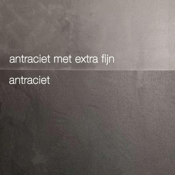 VERBAU-betonstuc basiskleuren antraciet