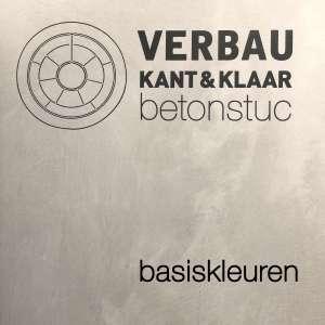 VERBAU-betonstuc basiskleuren